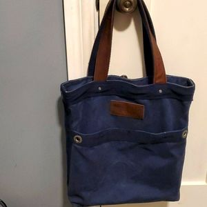 Abercrombie & Fitch Navy Blue Tote